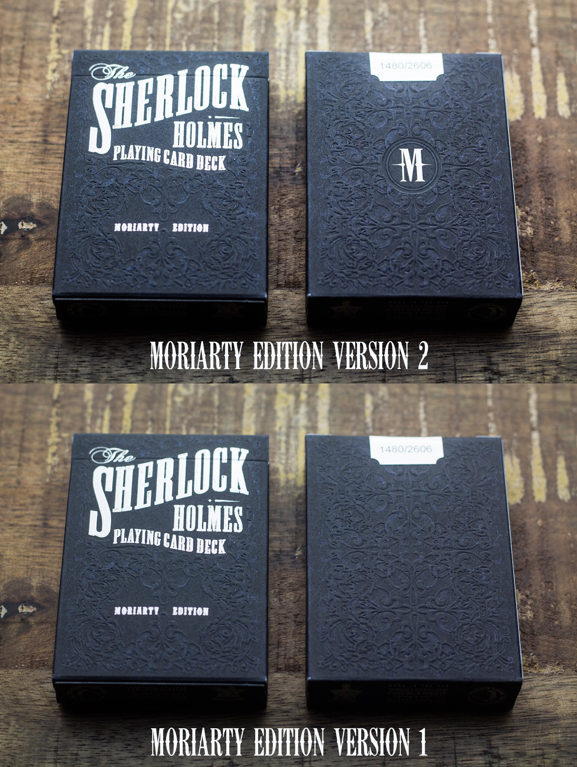Sherlock Holmes - Moriarty Edition Reprint - Playing Cards by ...